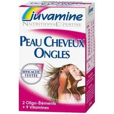 Juvamine - Peau Cheveux Ongles